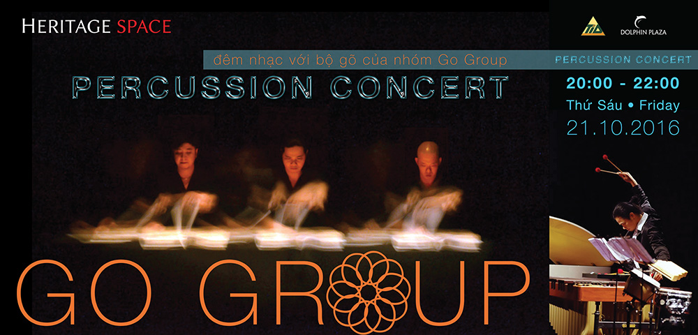 A musical night for Autumn - Percussion Concert by GO GROUP