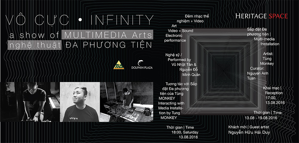 MULTIMEDIA Installation event | VÔ CỰC - THE INFINITY